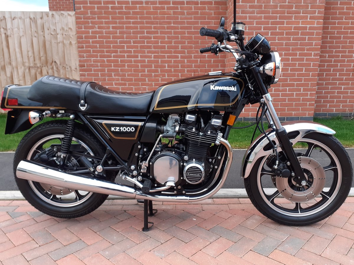 1980 Z1000 mk2 as new time warp machine super-rare  For Sale (picture 1 of 6)