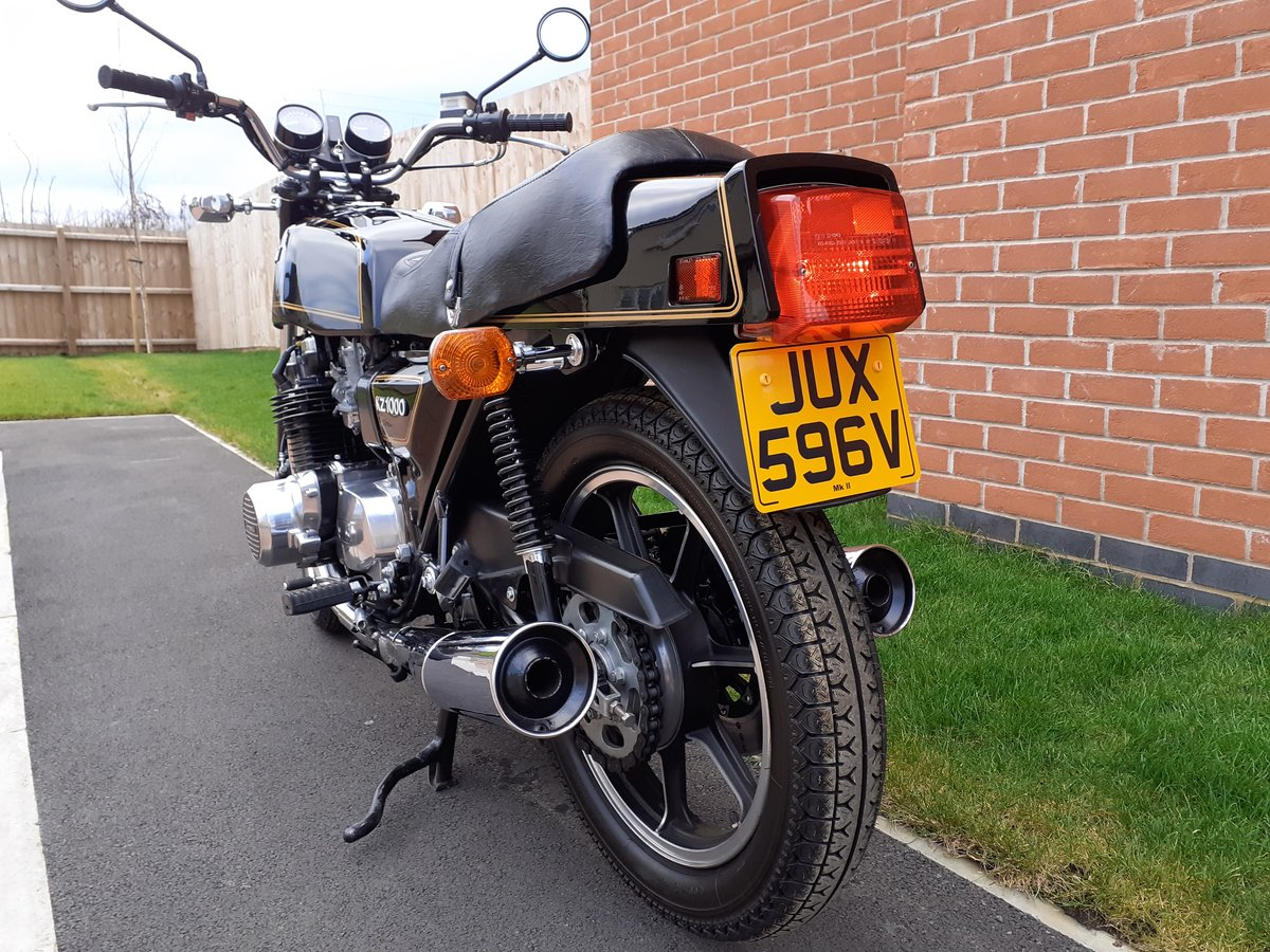 1980 Z1000 mk2 as new time warp machine super-rare  For Sale (picture 4 of 6)