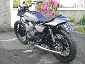 Kawasaki H1A 1972 Cafe Racer UK Bike Fully Rebuilt