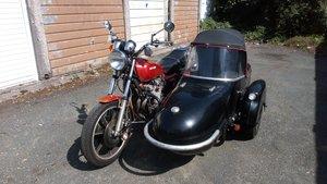Kawasaki 650+Sidecar