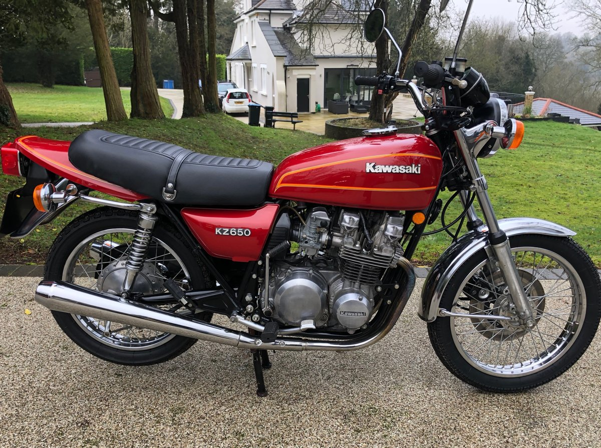 1979 z650B3 very low mileage For Sale (picture 1 of 6)