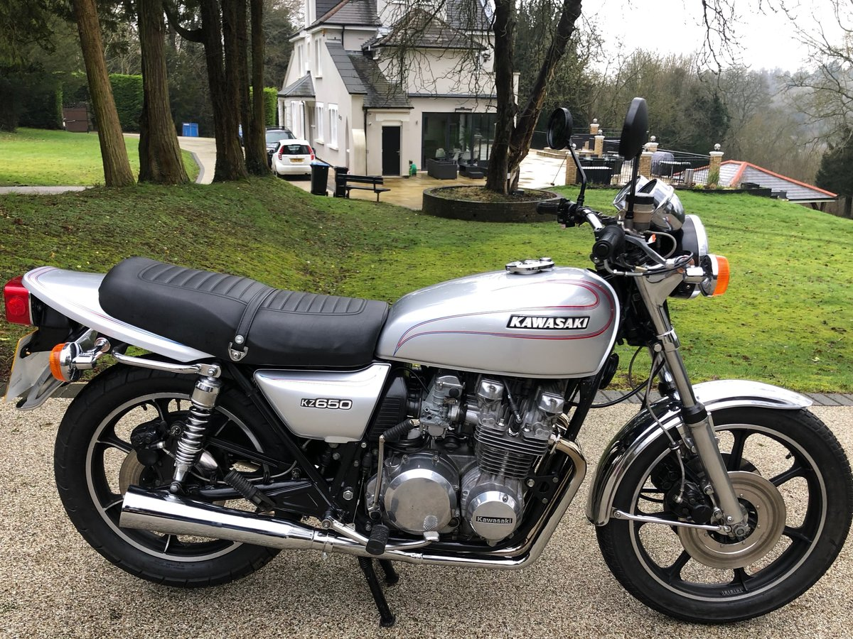 1977 Z650C lovely example SOLD (picture 1 of 6)