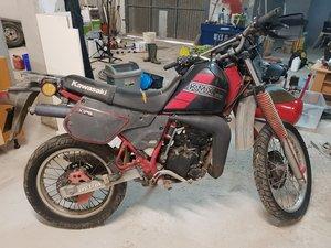 1991 Kawasaki KMX 200 very rare bike. For Sale