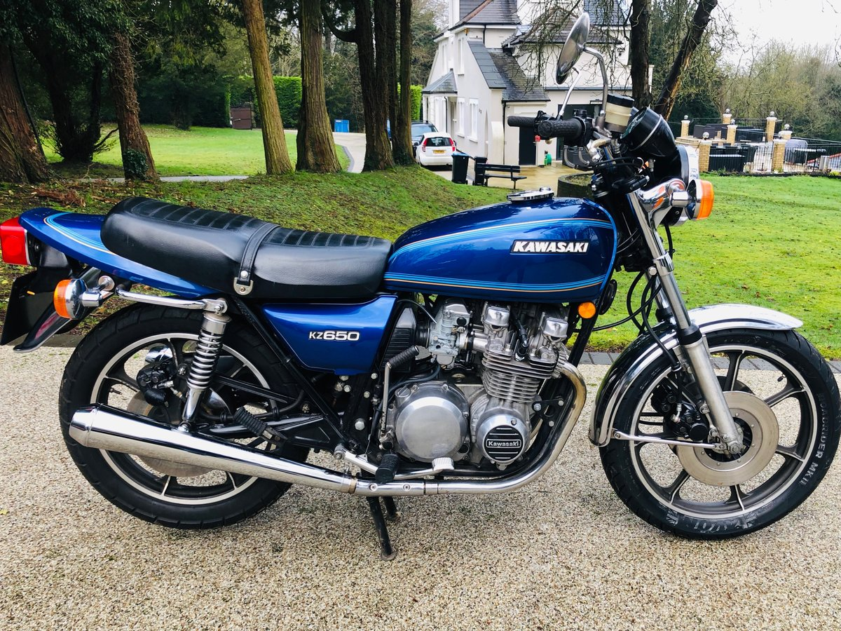 1977 Kawasaki Z650C1 low milegae For Sale (picture 1 of 6)