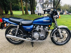 1977 Kawasaki Z650C1 low milegae For Sale