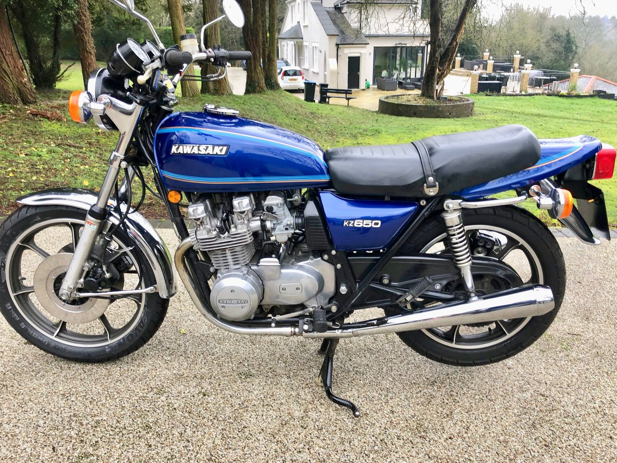 1977 Kawasaki Z650C1 low milegae For Sale (picture 2 of 6)