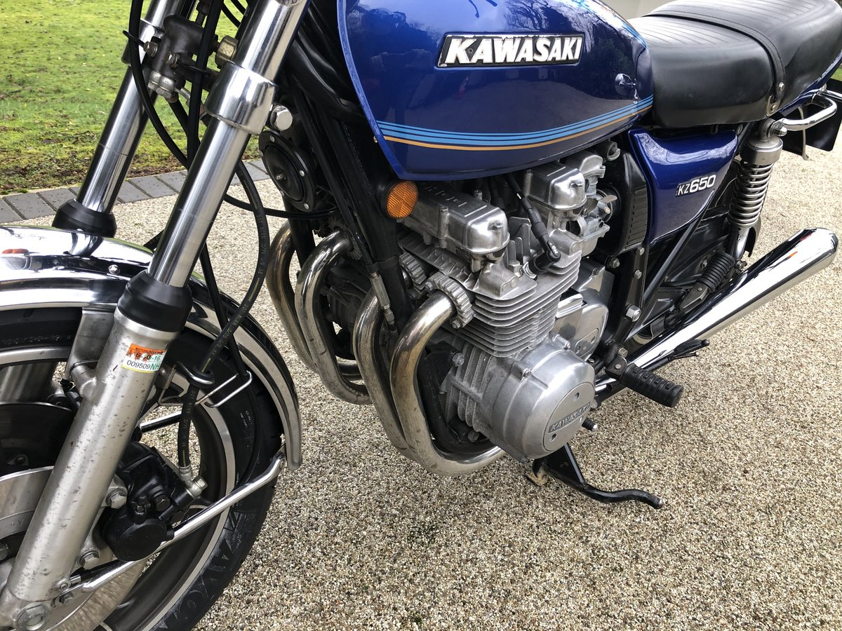 1977 Kawasaki Z650C1 low milegae For Sale (picture 3 of 6)