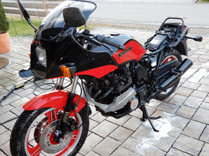 1984 Kawasaki ZX750E Turbo GPZ750 Turbo Project Bike Engine runs SOLD