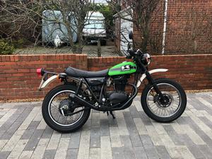 Kawasaki TR250 trail bike
