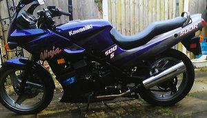 2004 Kawasaki Ninja G P Z 500R for sale 14000 miles  Model