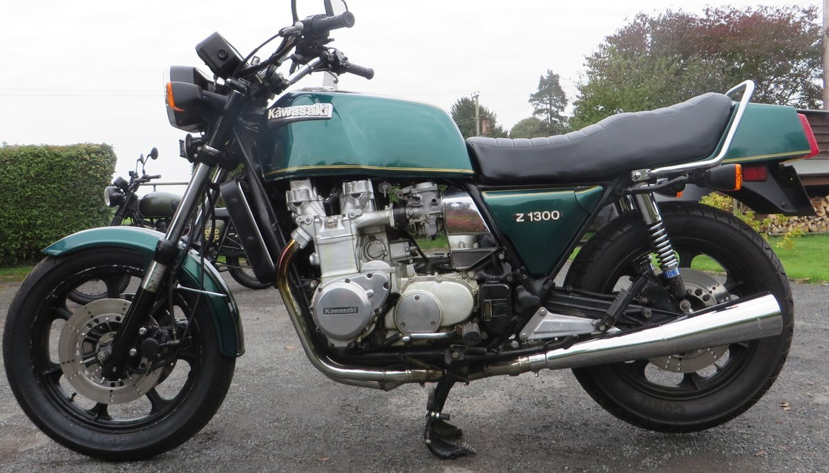 Kawasaki z1300 meggabike. 1981. six cylinder SOLD (picture 4 of 6)