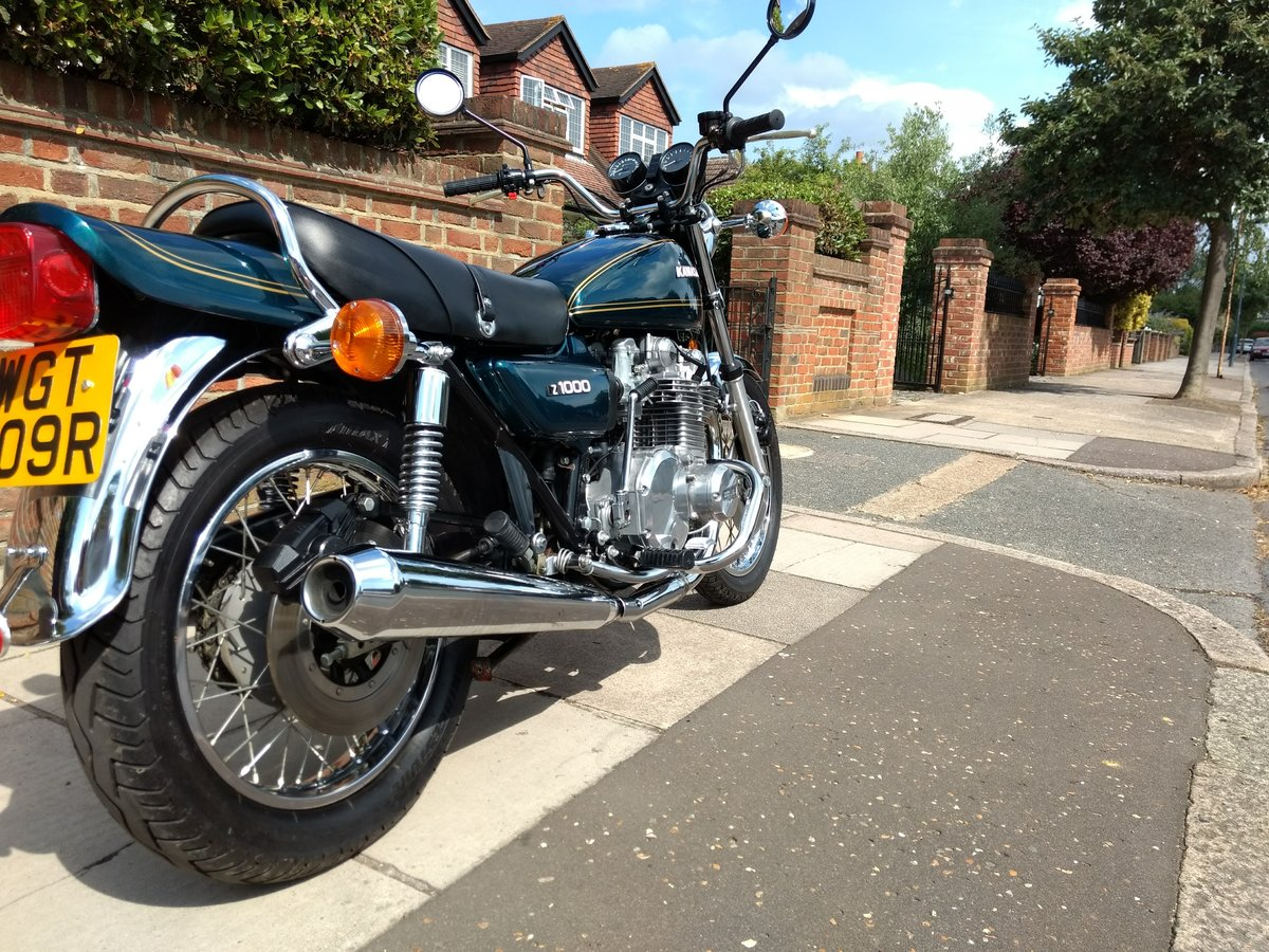 1977 Kawasaki Z1000 UK mint, low mileage SOLD (picture 2 of 6)