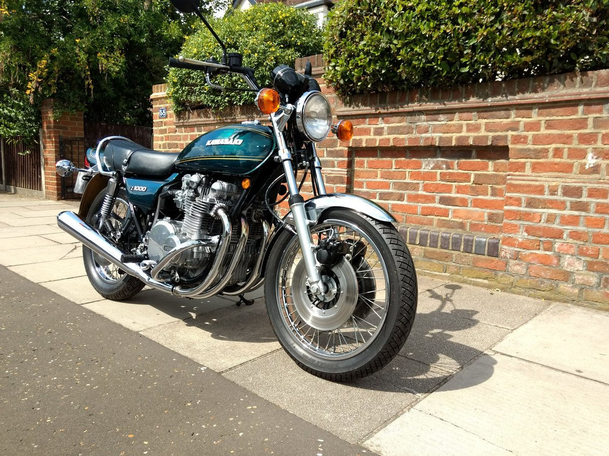 1977 Kawasaki Z1000 UK mint, low mileage SOLD (picture 3 of 6)
