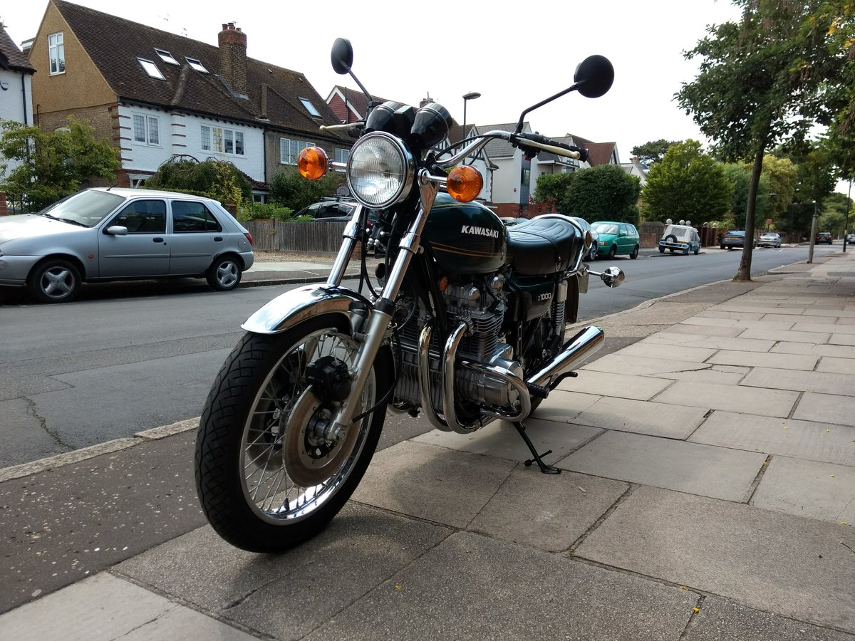 1977 Kawasaki Z1000 UK mint, low mileage SOLD (picture 4 of 6)