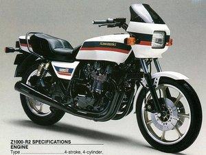 Kawasaki Z1000R2  Eddie Lawson SuperBike Replica 1983