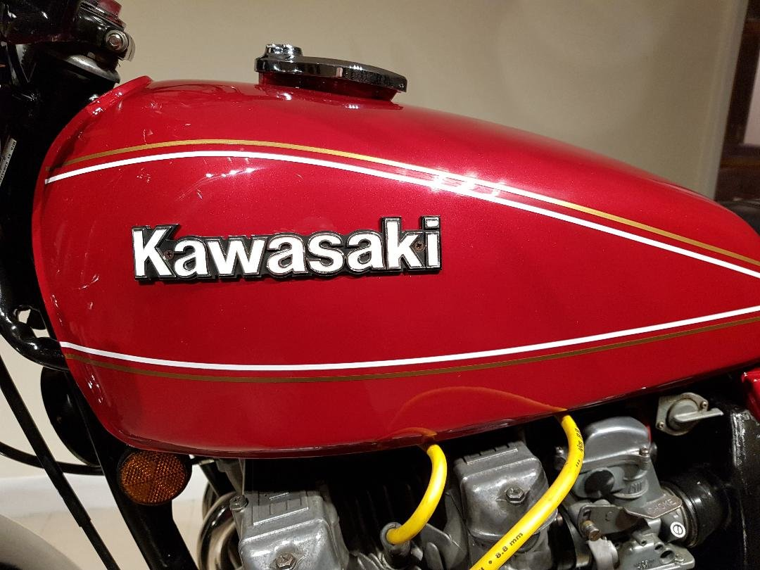 1978 Kawasaki kz650  metallic red private sale For Sale (picture 2 of 6)