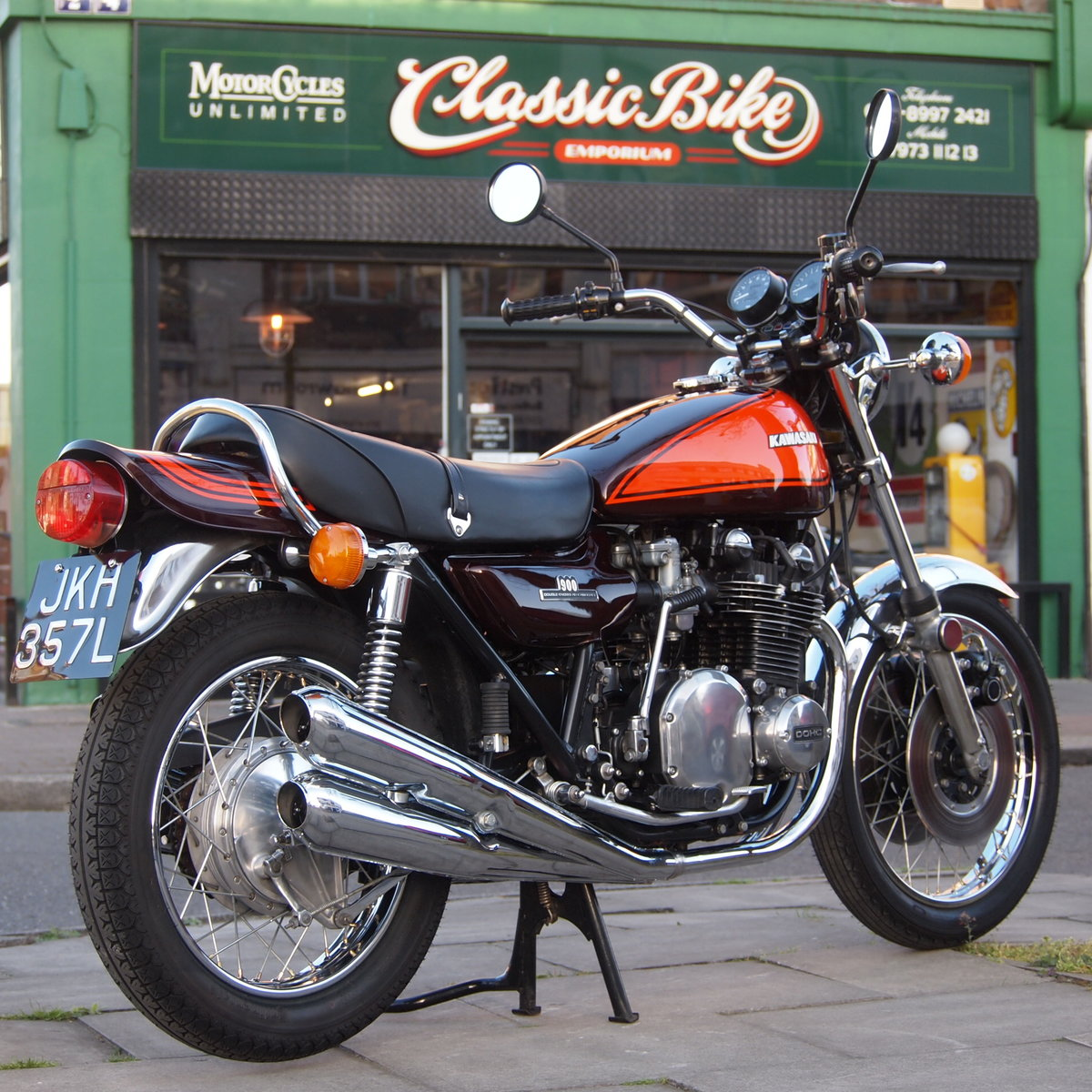 1972 Kawasaki Z1 900 In Top Condition, RESERVED FOR DAVID. SOLD (picture 1 of 6)