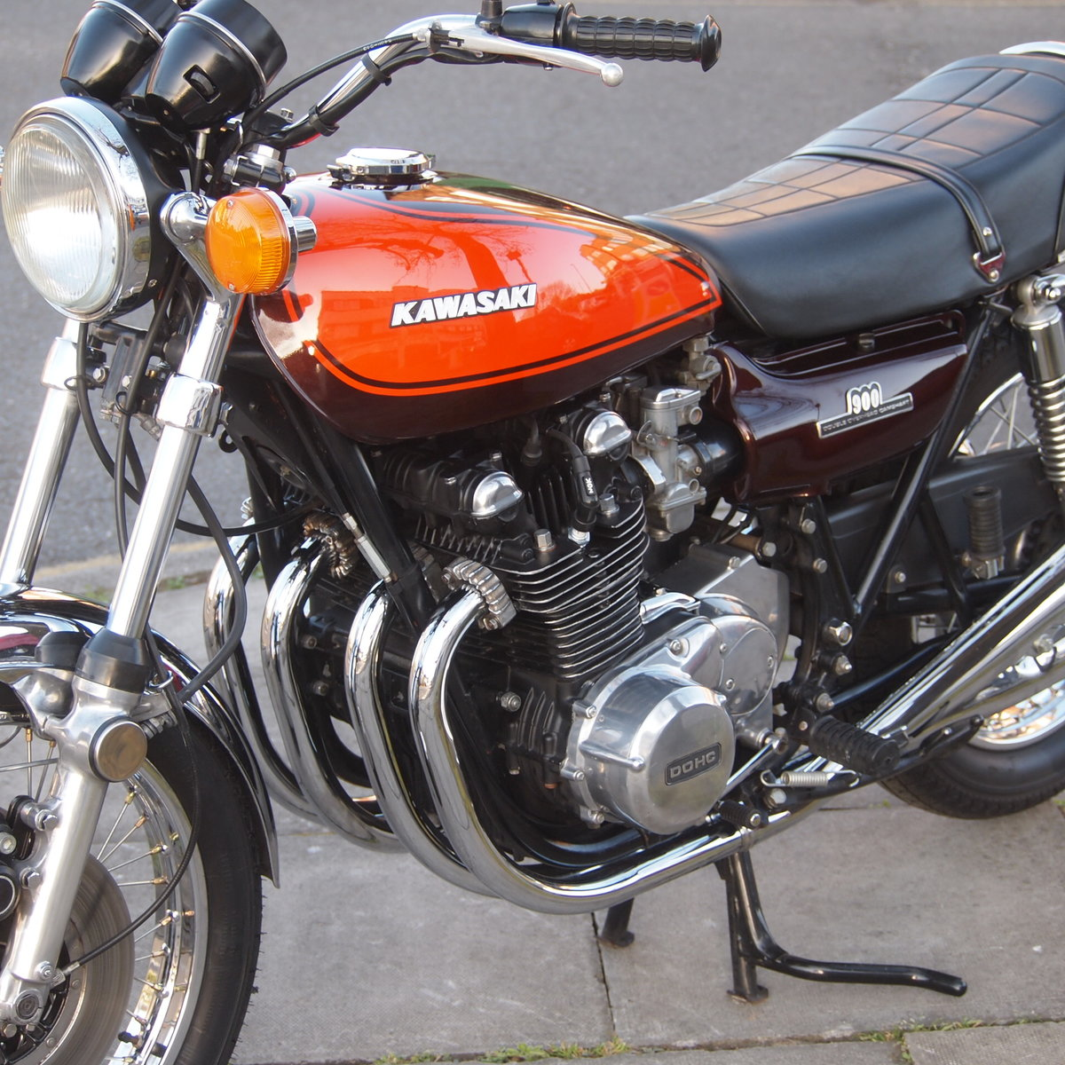 1972 Kawasaki Z1 900 In Top Condition, RESERVED FOR DAVID. SOLD (picture 5 of 6)