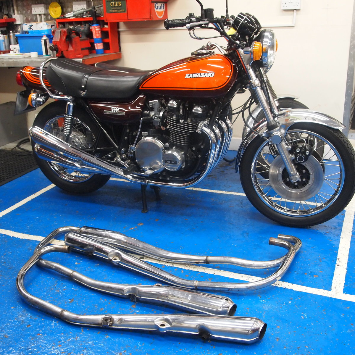 1972 Kawasaki Z1 900 In Top Condition, RESERVED FOR DAVID. SOLD (picture 6 of 6)