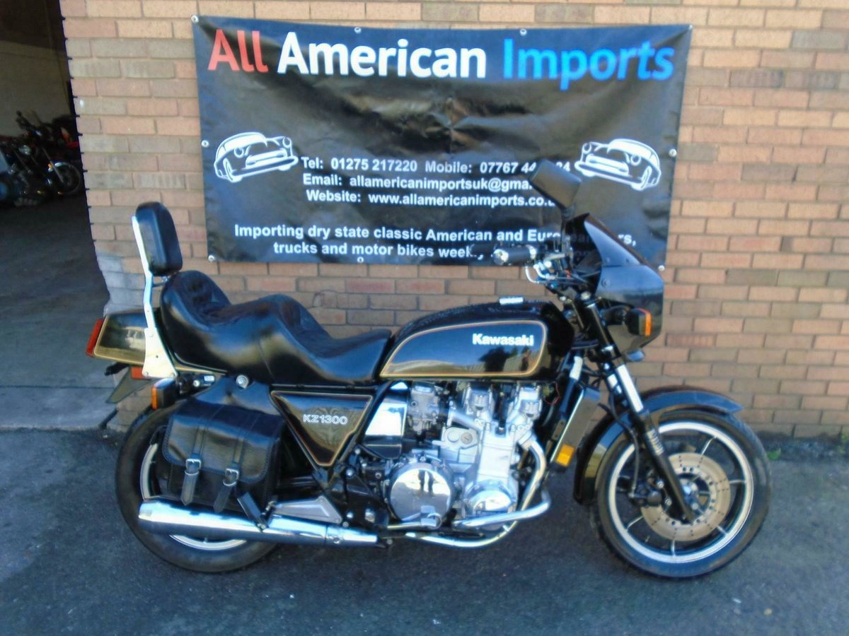 KAWASAKI KZ1300 A (1981) MET BLACK FRESH US IMPORT  SOLD (picture 2 of 6)