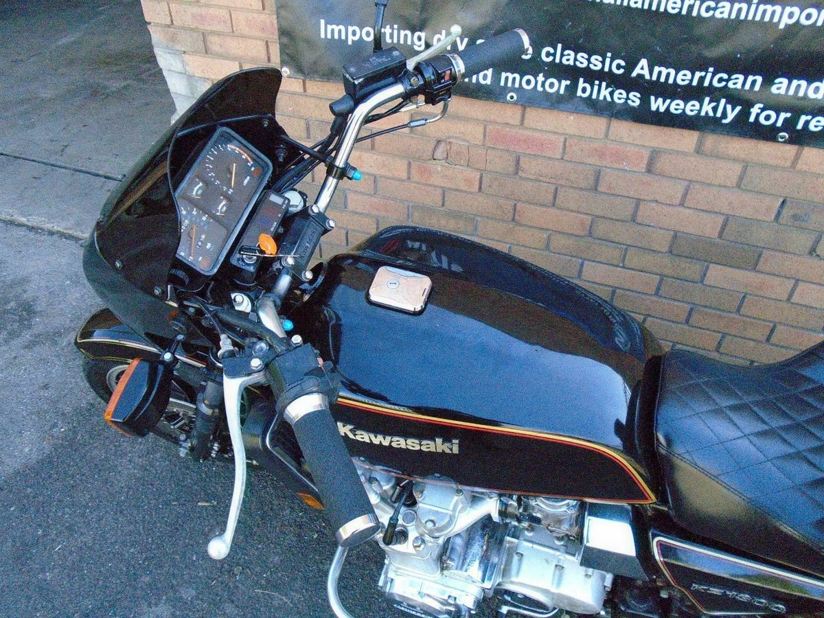 KAWASAKI KZ1300 A (1981) MET BLACK FRESH US IMPORT  SOLD (picture 5 of 6)