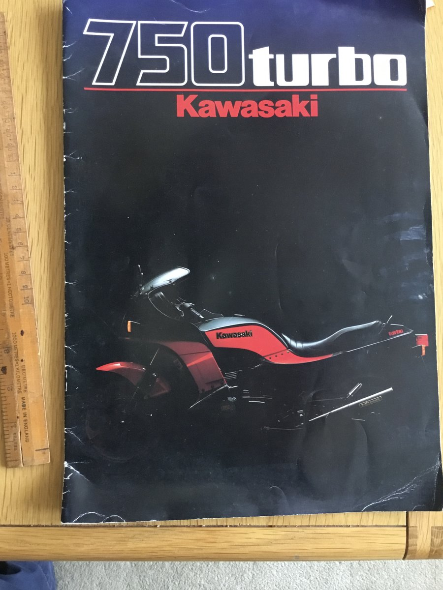 1984 Kawasaki 750 turbo SOLD (picture 1 of 1)