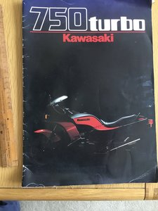 1984 Kawasaki 750 turbo SOLD