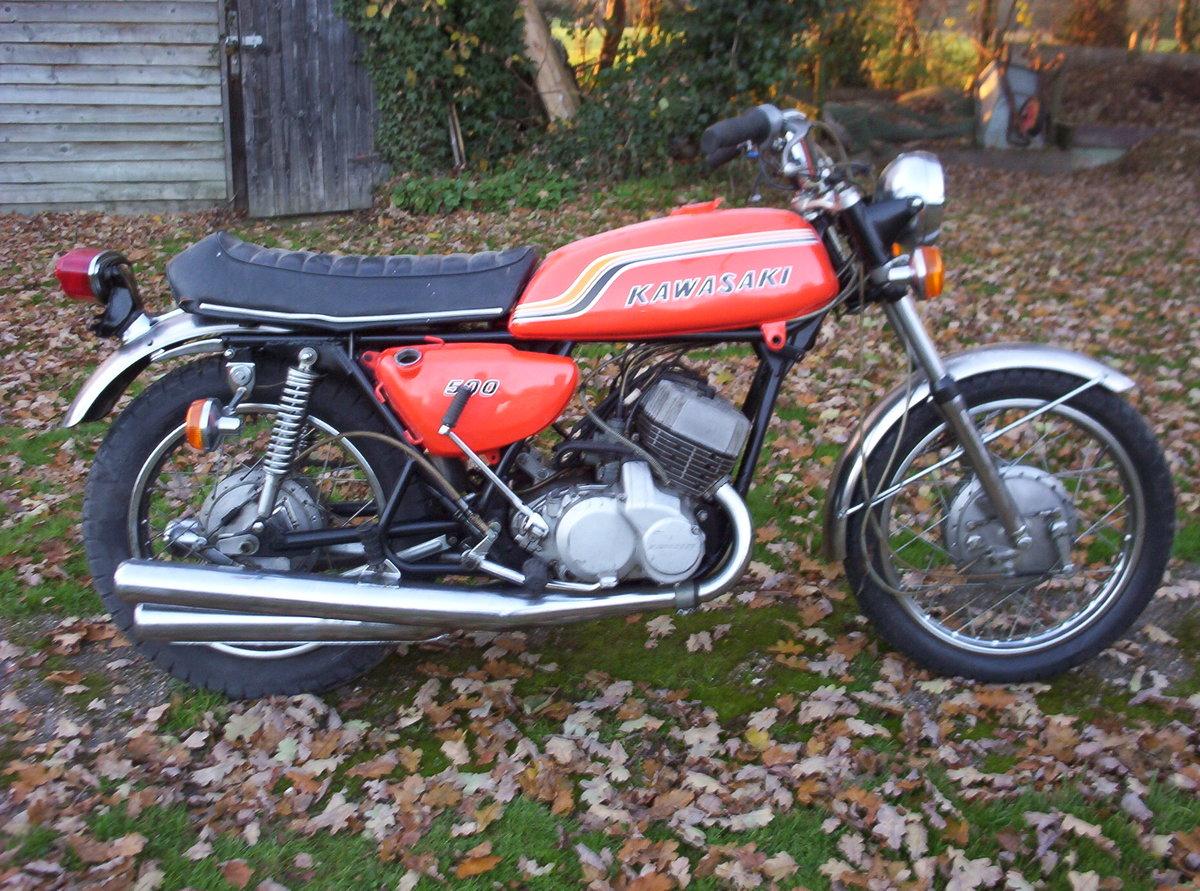 1971 Kawasaki 500  Original H1-C  For Sale (picture 1 of 3)