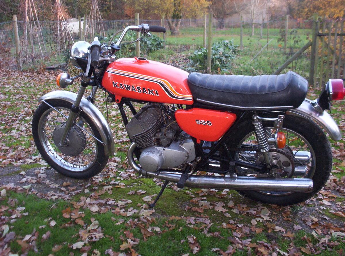 1971 Kawasaki 500  Original H1-C  For Sale (picture 2 of 3)