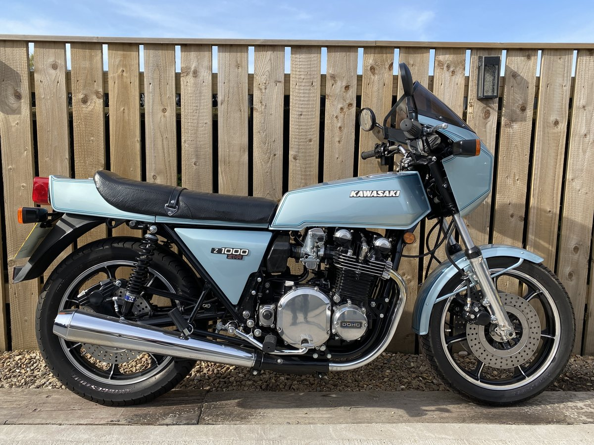 1980 KAWASAKI Z1R 1000 PROPER MINT! OFFERS PX CLASSIC Z1 Z900 For Sale (picture 2 of 5)