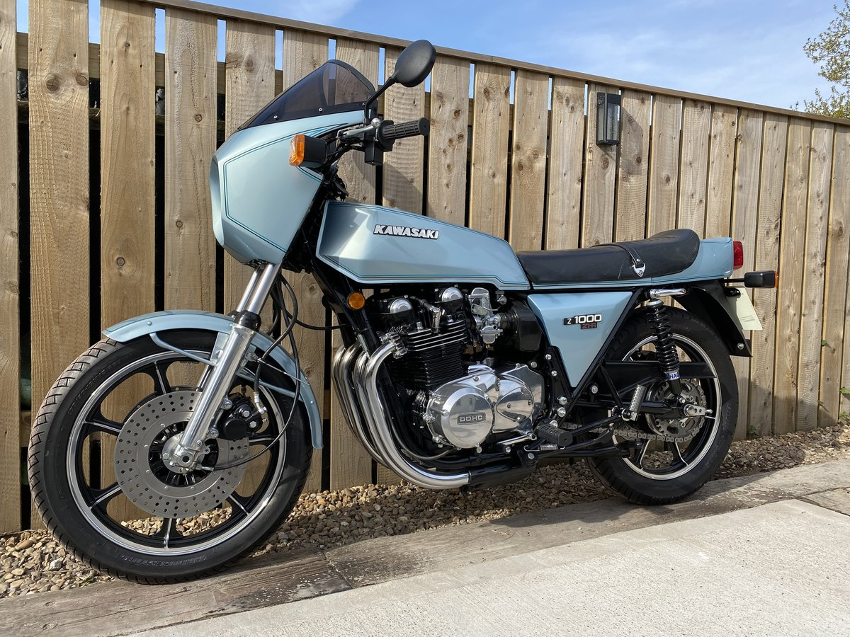 1980 KAWASAKI Z1R 1000 PROPER MINT! OFFERS PX CLASSIC Z1 Z900 For Sale (picture 4 of 5)