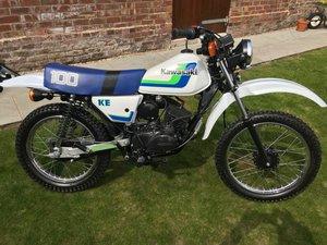 1986 Kawasaki KE100 For Sale by Auction