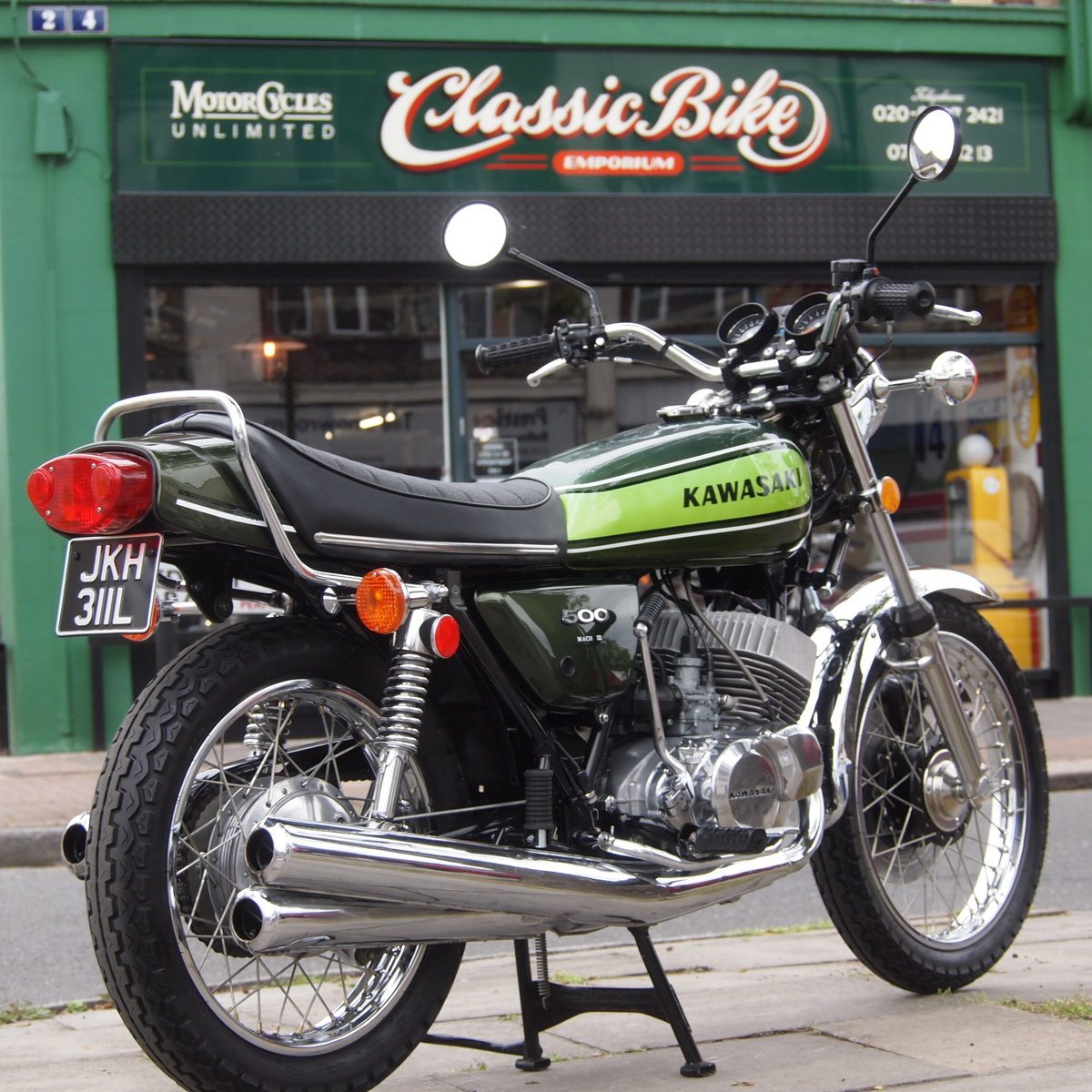 1973 Kawasaki H1D 500 Triple, RESERVED FOR GEORGE. SOLD (picture 1 of 6)