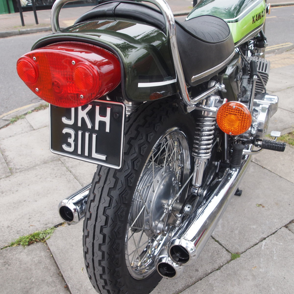 1973 Kawasaki H1D 500 Triple, RESERVED FOR GEORGE. SOLD (picture 2 of 6)
