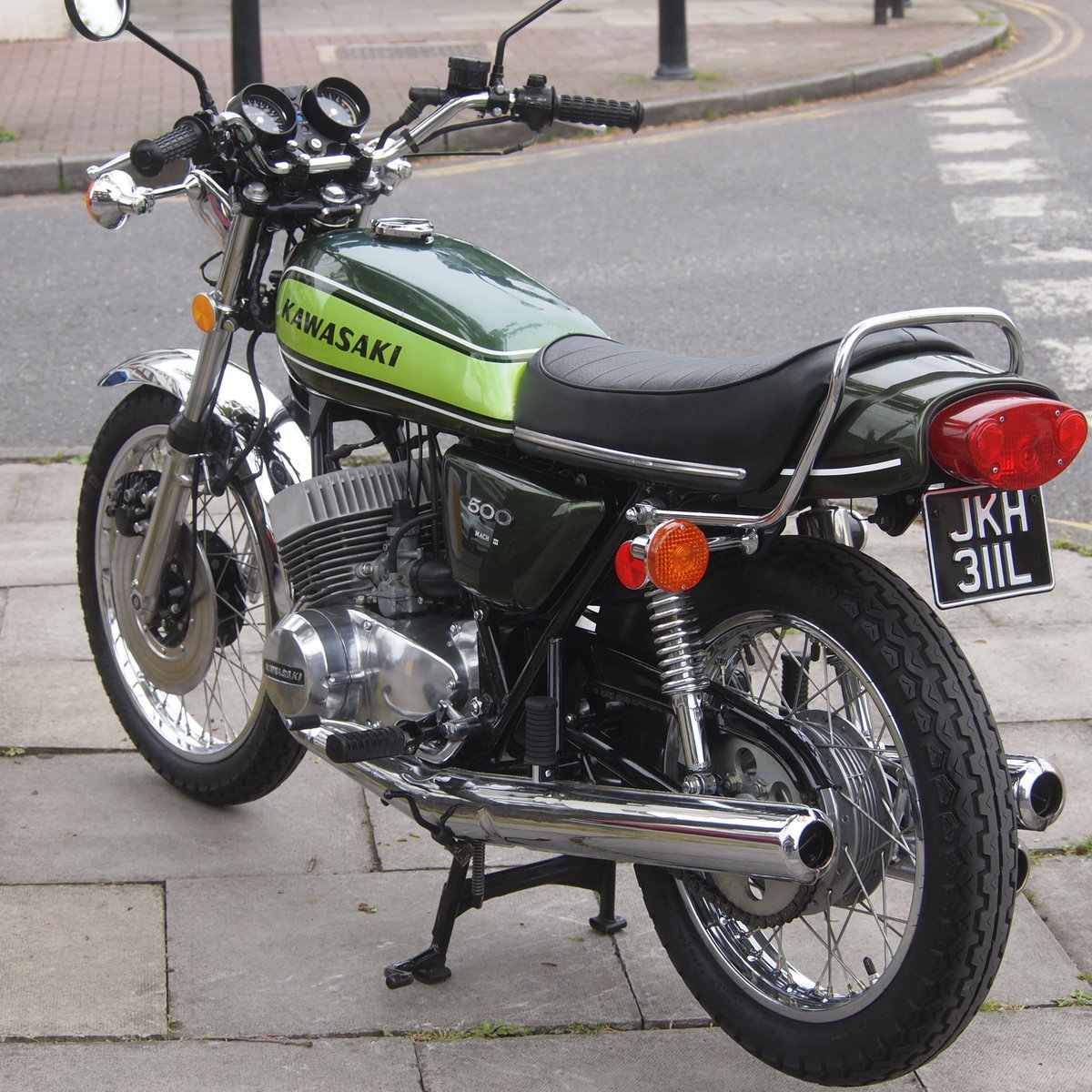 1973 Kawasaki H1D 500 Triple, RESERVED FOR GEORGE. SOLD (picture 3 of 6)