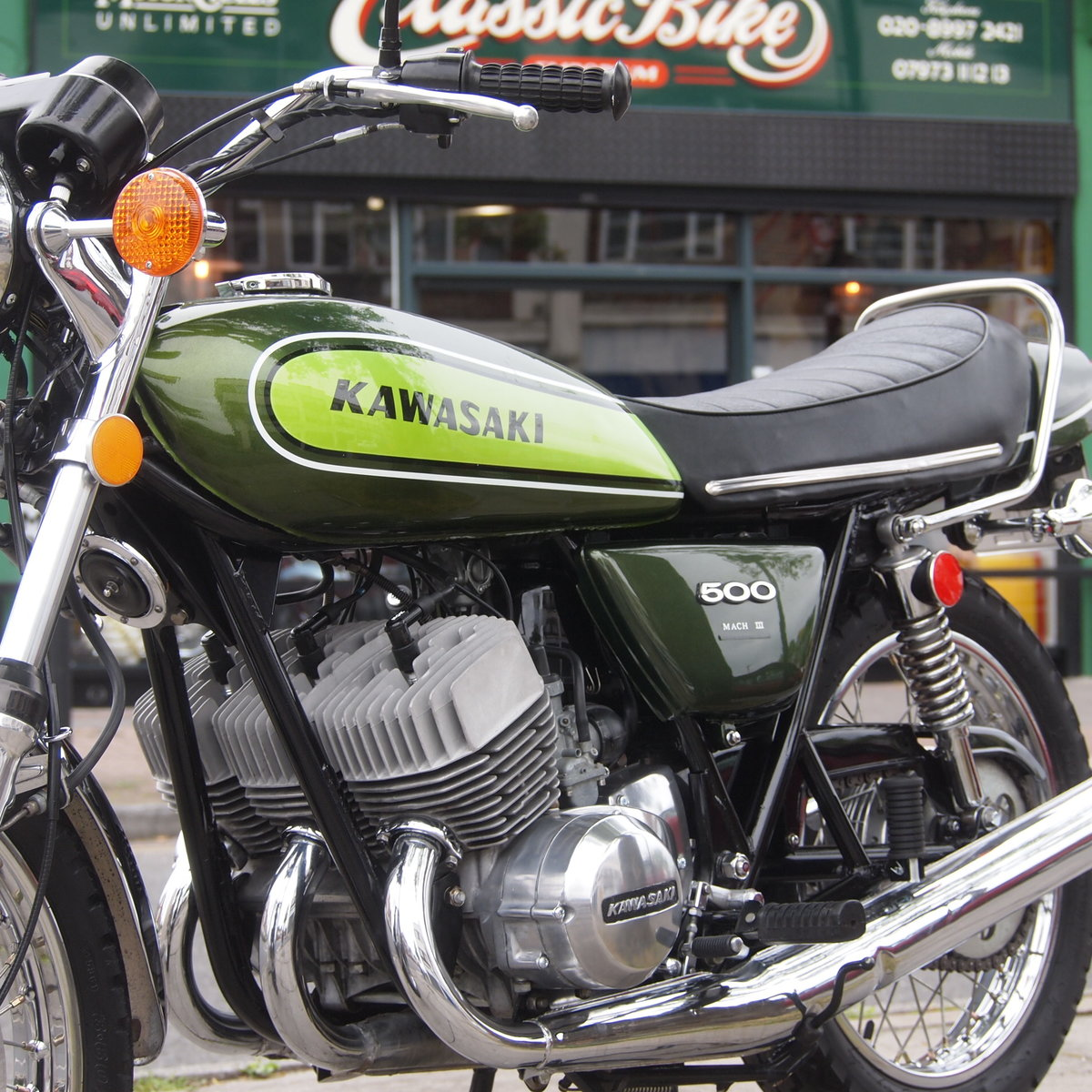 1973 Kawasaki H1D 500 Triple, RESERVED FOR GEORGE. SOLD (picture 4 of 6)