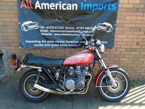 KAWASAKI KZ650 D (1978) MET RED! FRESH US IMPORT