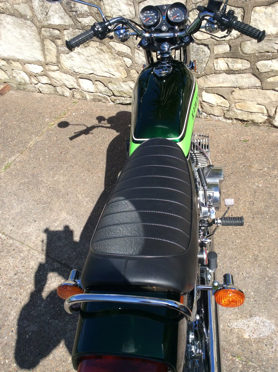 1973 Kawasaki H1D 500 triple almost perfect restored SOLD (picture 5 of 6)