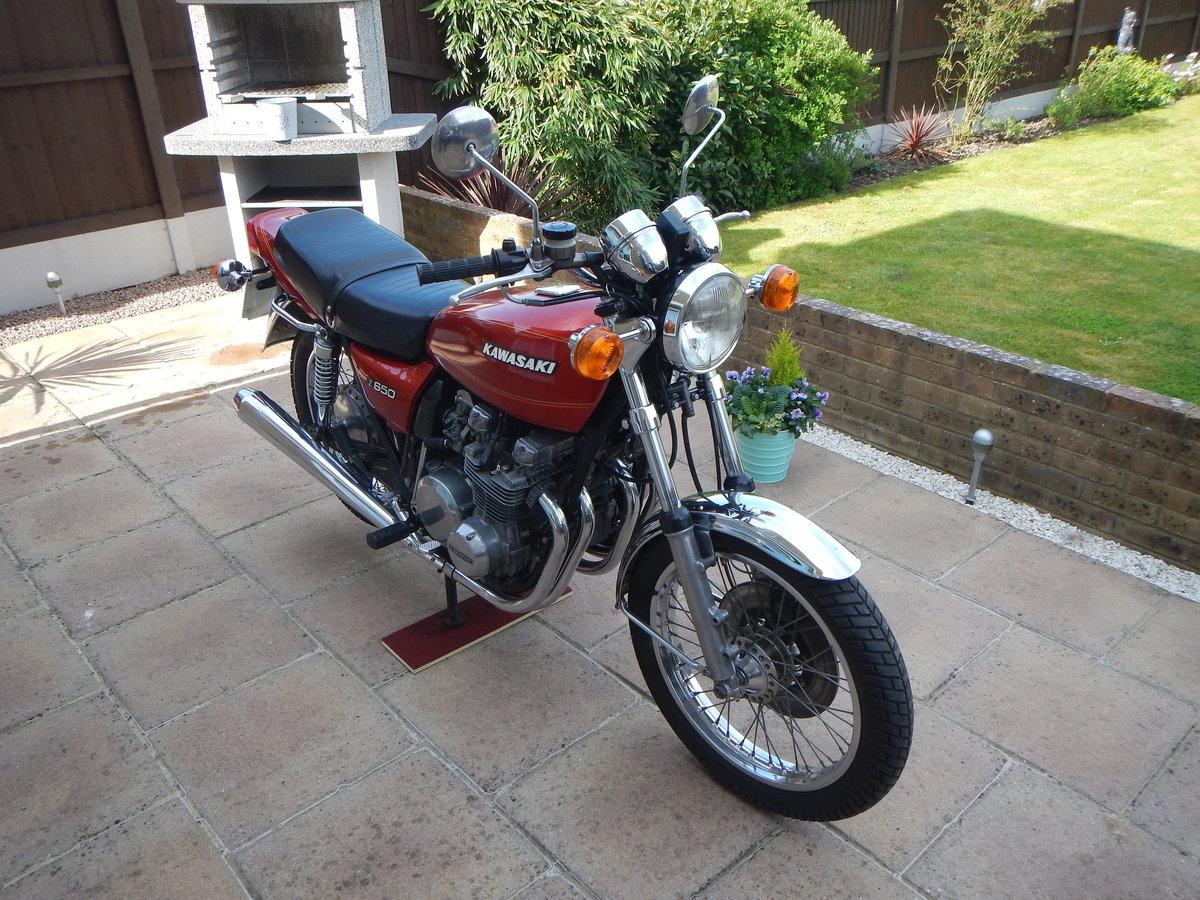 1978 Kawasaki Z650 B1 UK Model SOLD (picture 2 of 6)