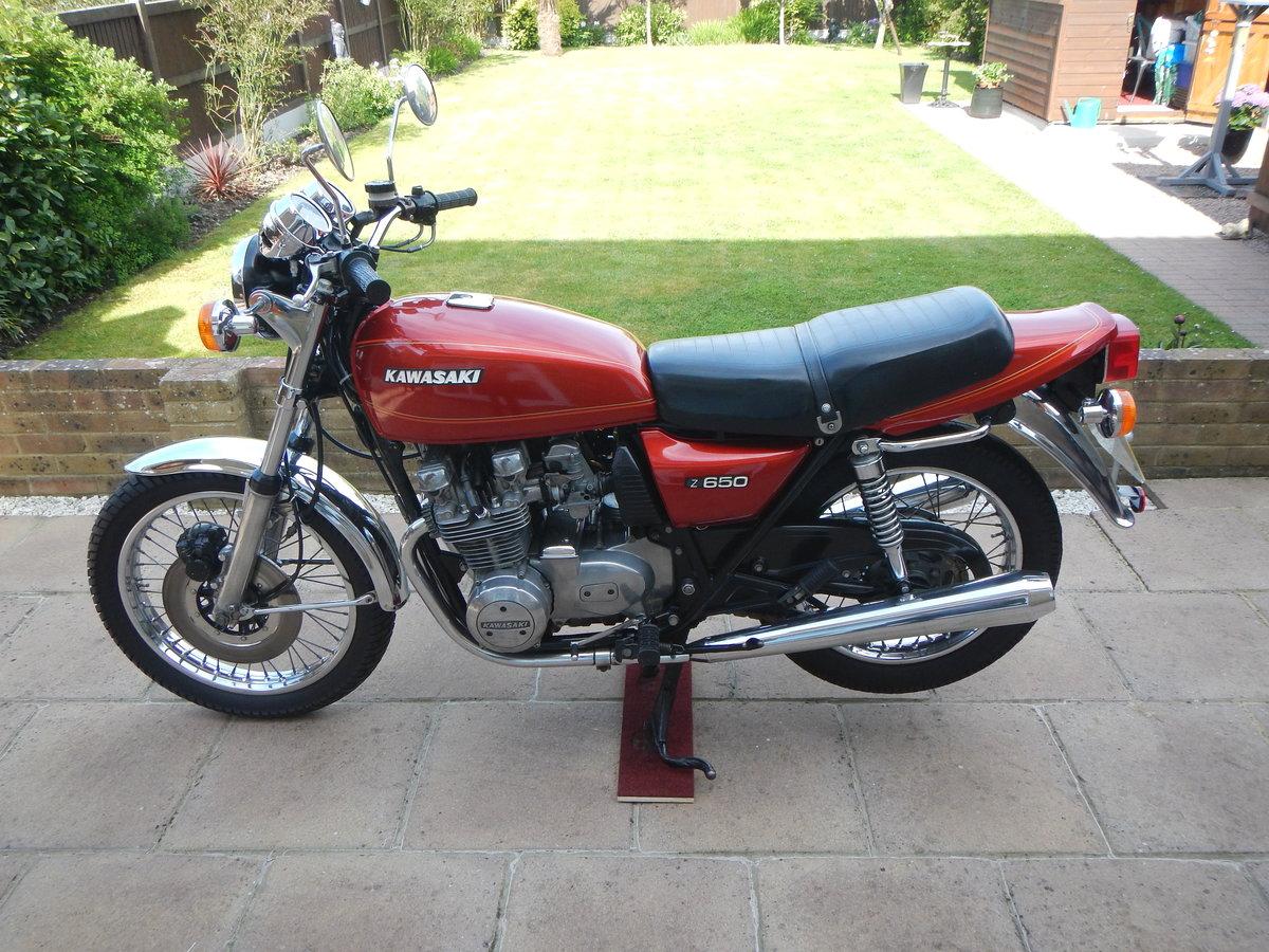1978 Kawasaki Z650 B1 UK Model SOLD (picture 3 of 6)