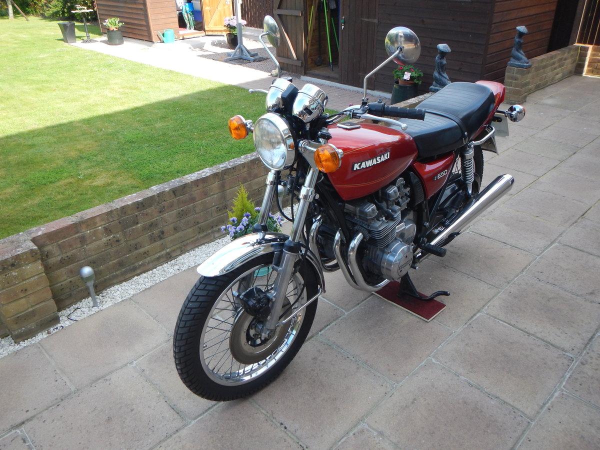 1978 Kawasaki Z650 B1 UK Model SOLD (picture 4 of 6)