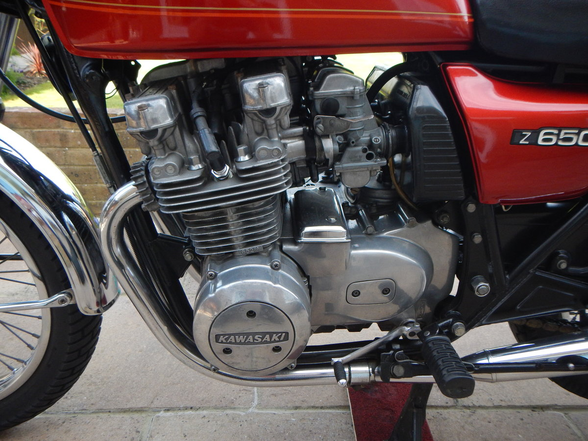 1978 Kawasaki Z650 B1 UK Model SOLD (picture 5 of 6)