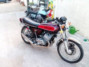 Kawasaki KH500H1E nut and bolt restoration