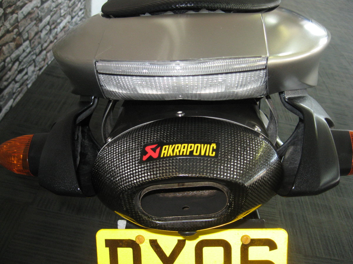 2006 06-reg Kawasaki ZX636r finished in grey metallic For Sale (picture 6 of 6)