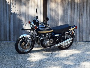 1975 Stunning Kawasaki Z1B 900 in restored concours condition.