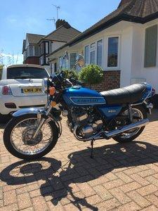 1975 Kawasaki S1 Lovely restored classic