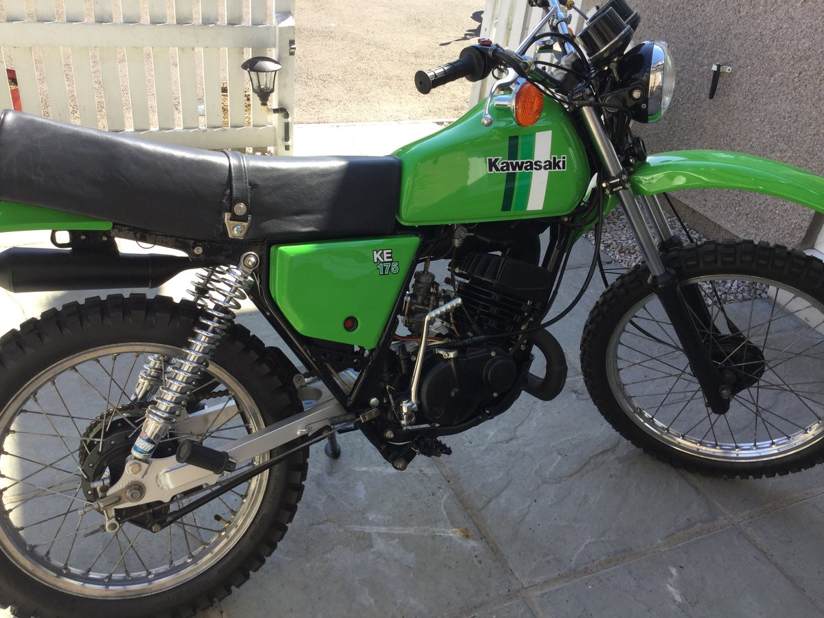 1981 Restored Kawasaki KE 175 For Sale (picture 1 of 6)