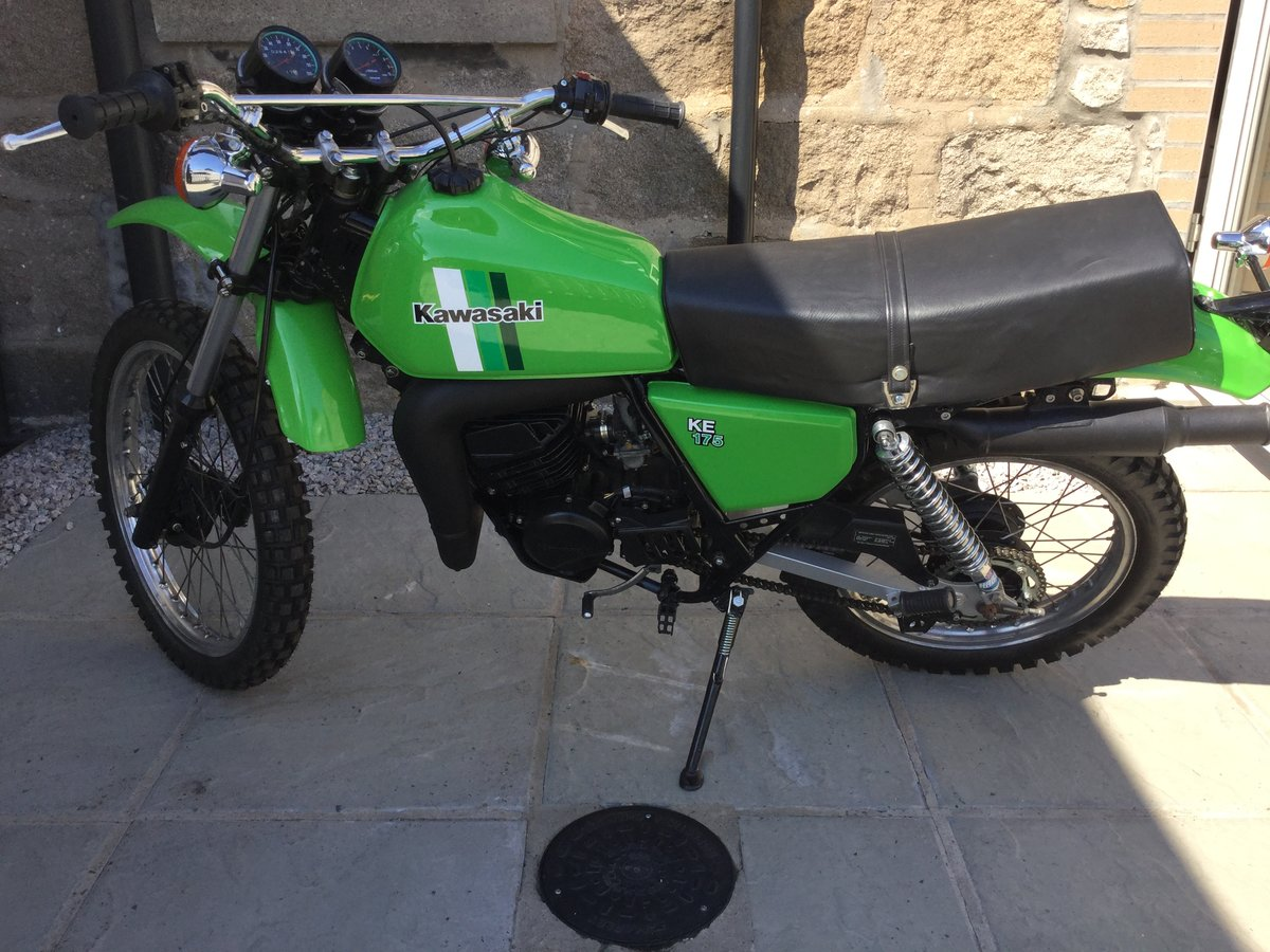 1981 Restored Kawasaki KE 175 For Sale (picture 2 of 6)