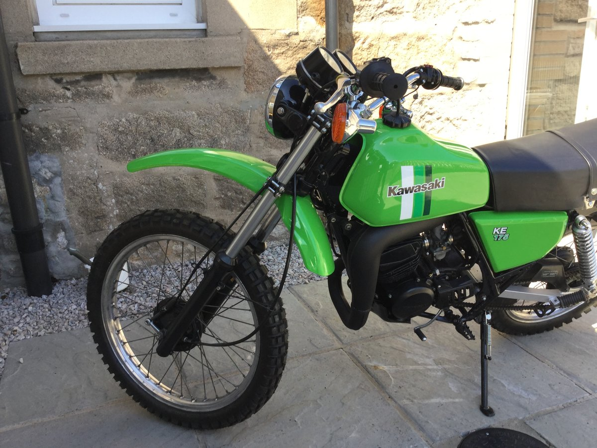 1981 Restored Kawasaki KE 175 For Sale (picture 5 of 6)