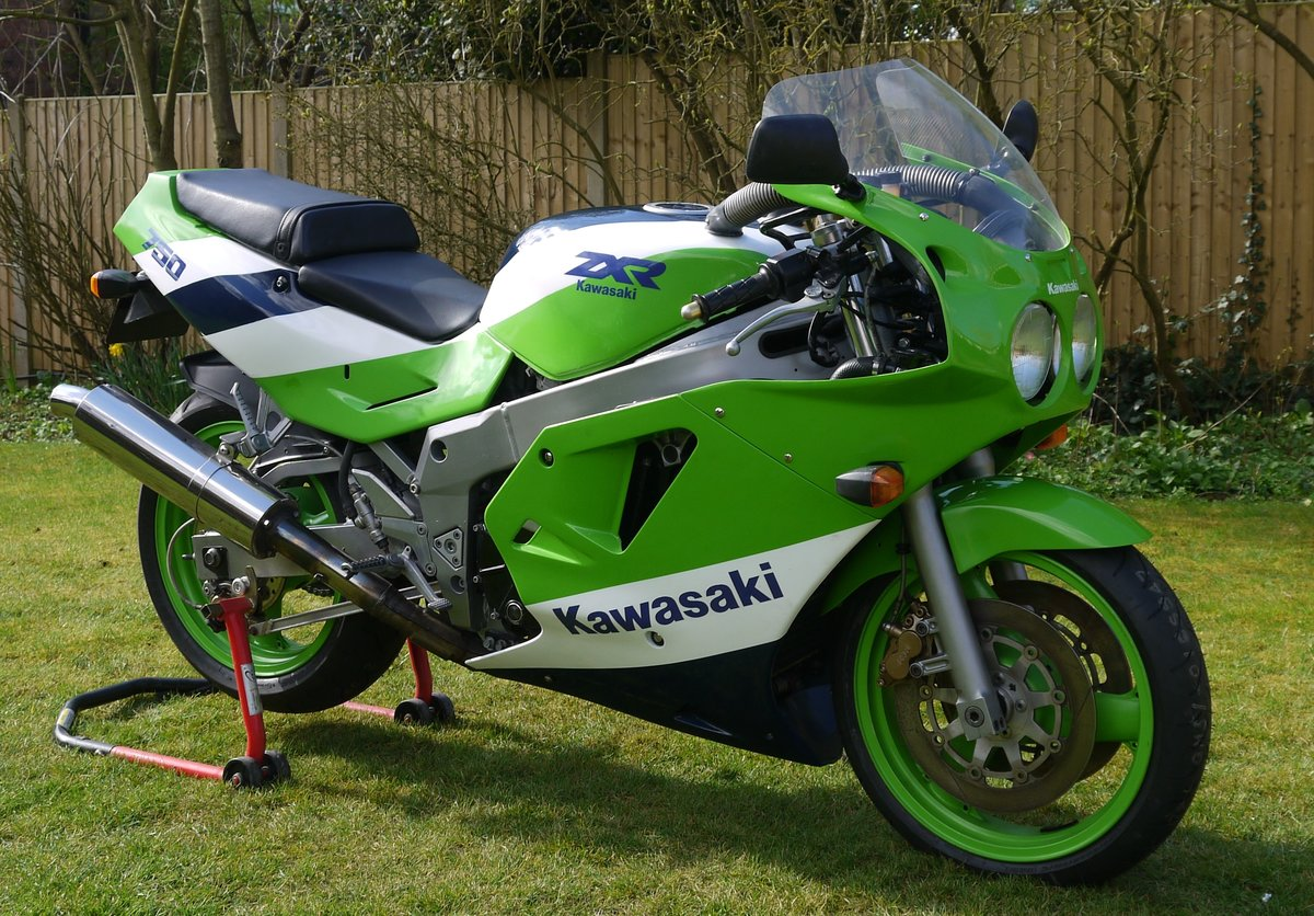 1989 Kawasaki ZXR750H1  SOLD (picture 1 of 6)